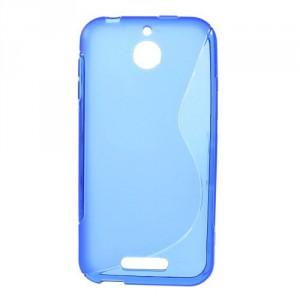 Pouzdro S-curve - HTC Desire 510 - Modré