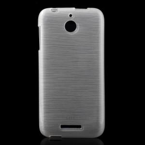 Pouzdro-Obal - HTC Desire 510 - Broušený vzor, bílý