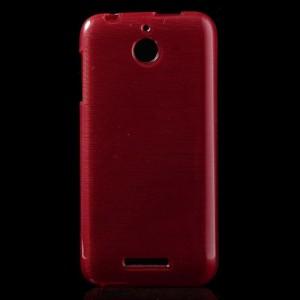 Pouzdro-Obal - HTC Desire 510 - Broušený vzor, červený