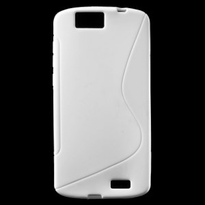 Pouzdro S-Curve Huawei Ascend G7 - bílé