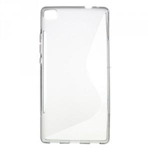 Pouzdro S-Curve Huawei Ascend P8 - šedé