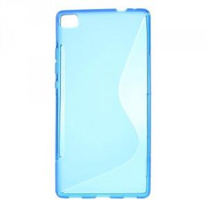 Pouzdro S-Curve Huawei Ascend P8 - modré