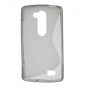 Pouzdro S-Curve LG L Fino - šedé