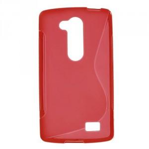 Pouzdro S-Curve LG L Fino - červené
