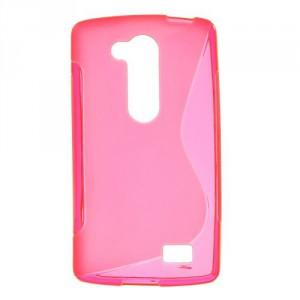 Pouzdro S-Curve LG L Fino - růžové
