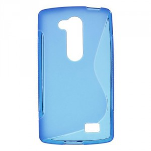 Pouzdro S-Curve LG L Fino - modré