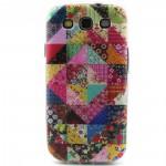 Pouzdro / Obal Galaxy S3 i9300, i9301 - Patchwork