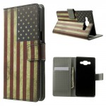 Pouzdro Galaxy A5 - Vlajka USA