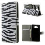Pouzdro Galaxy A5 - Zebra