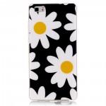 Pouzdro / Obal Huawei P8 Lite - květy 05