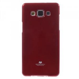 Obal Jelly Case Galaxy A5 - Červený lesklý třpytivý