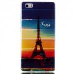 Pouzdro / Obal Huawei P8 Lite - Eiffelovka
