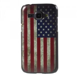Kryt / Obal Galaxy J1 - Vlajka USA