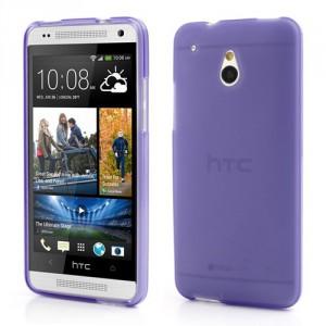 Matné pouzdro HTC One MIni - Fialové