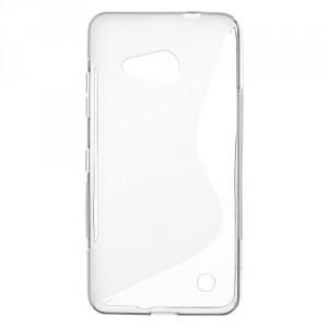 Pouzdro S-curve Lumia 550 - Šedé