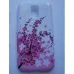 Sleva-Pouzdro / Obal - Květy 02 - Galaxy S5 Mini G800