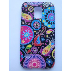 Sleva-Pouzdro / Obal - Květy 01 - Galaxy S5 Mini G800