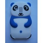 Sleva-Pouzdro / Obal Modrá panda - Galaxy S3 Mini