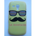 Sleva-Kryt/Obal Moustache 01 - Galaxy Trend S7560/S Duos S7562/Trend Plus S7580