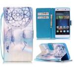 Koženkové pouzdro Huawei P8 Lite - Lapač snů 08