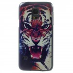 Zadní kryt / Obal Galaxy S5 Mini G800 - Tygr