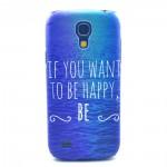 Zadní kryt / Obal Galaxy S4 Mini i9190 - Happy