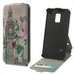 Koženkové pouzdro Flip - Galaxy S5 Mini G800 - Big Ben