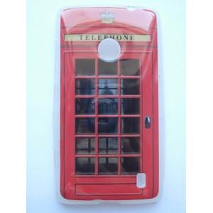 Sleva-Pouzdro / Obal - Britská telefonní budka - Lumia 520