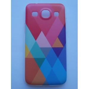 Sleva-Kryt / Obal - Abstraktní vzor 02 - Galaxy Core Plus