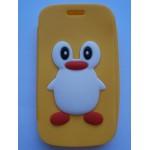 Sleva-Oboustranné pouzdro - Žlutý tučňák - Galaxy Trend S7560-S Duos S7562-Trend Plus S7580