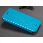 Tenké koženkové pouzdro - Honor 5X - modré