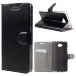 Tenké knížkové pouzdro Lumia 650 - černé