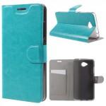 Tenké knížkové pouzdro Lumia 650 - modré