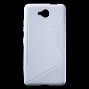 Pouzdro S-curve Lumia 650 - Bílé