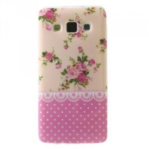 Pouzdro / Obal Galaxy A3 - Květy 06