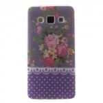 Pouzdro / Obal Galaxy A3 - Květy 05