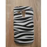 Sleva-Zadní kryt//Obal Zebra 01 - Galaxy Trend S7560/Galaxy S Duos S7562