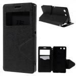 Pouzdro Wallet S-view Xperia M5 - černé