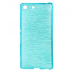 Pouzdro / Obal - Broušený vzor, modré - Xperia M5