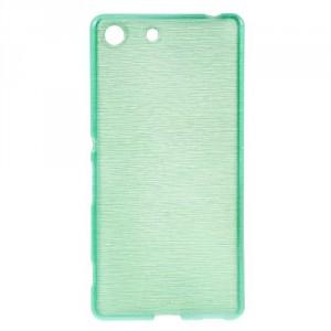 Pouzdro / Obal - Broušený vzor, zelené - Xperia M5