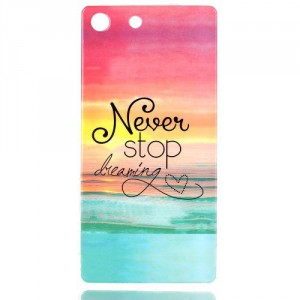 Pouzdro / Obal Xperia M5 - Never stop dreaming