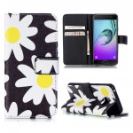 Koženkové pouzdro Galaxy A5 (2016) - Květy 01