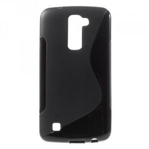 Pouzdro / Obal S-Curve LG K10 - černý