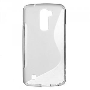 Pouzdro / Obal S-Curve LG K10 - šedý
