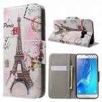 Koženkové pouzdro Samsung Galaxy J5  (2016) - Paříž