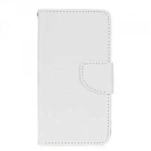 Koženkové pouzdro LG K10 - Bílé