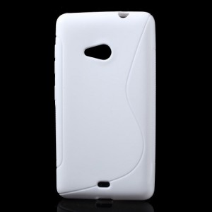 Pouzdro S-curve Lumia 535 - Bílé