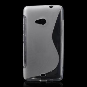 Pouzdro S-curve Lumia 535 - Průhledné