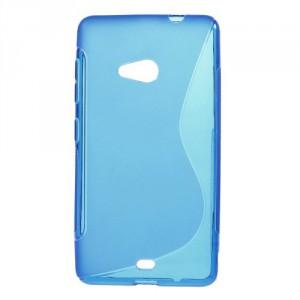 Pouzdro S-curve Lumia 535 - Modré