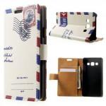 Koženkové pouzdro - Dopis - Galaxy A3